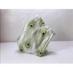 masque barrière en tissu 3D avec fente pour filtre