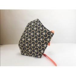 masque barrière en tissu 3D avec fente pour filtre 11-14 ANS