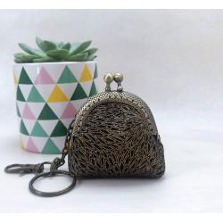 mini porte-monnaie, déco de sac